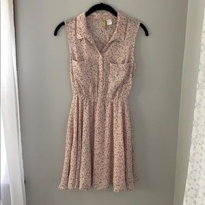 Blush Dress with Shift Included (Worn Once)